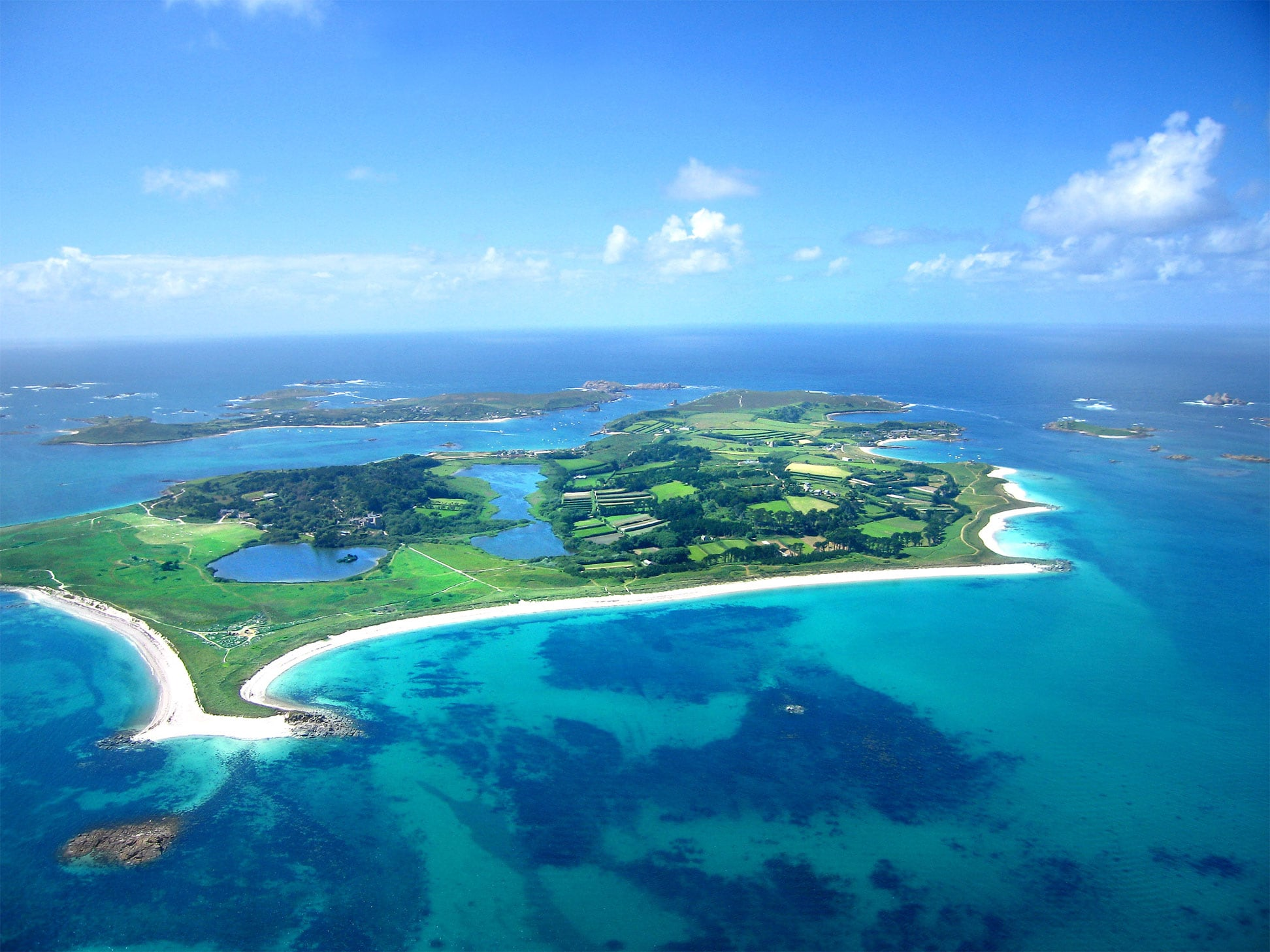 Flying to Tresco and St Mary's